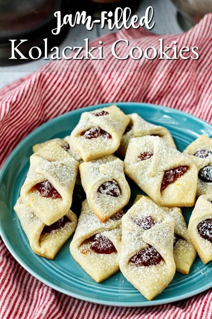 Kolaczki - Jam-Filled Polish Cookies
