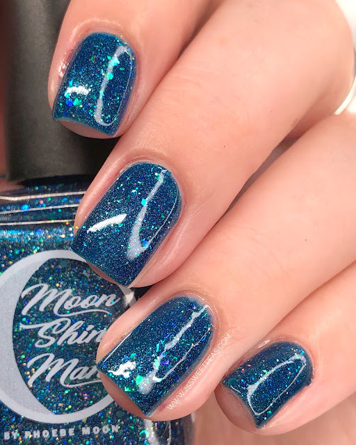 Moon Shine Mani Department of Mysteries 2.0 25 Sweetpeas