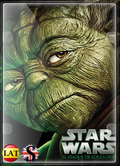 Star Wars: Episodio II – El Ataque de los Clones (2002) FULL HD 1080P LATINO/INGLES