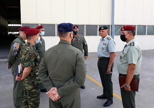 Κοινή εμφάνιση Α/ΓΕΕΘΑ με Διευθυντή Αεροπορίας Στρατού (ΦΩΤΟ-ΒΙΝΤΕΟ)