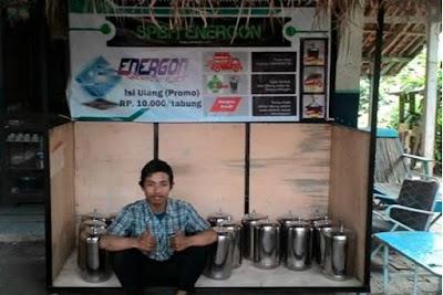 Keren, Mahasiswa UPI ini Ciptakan Kompor Berbahan Bakar Air