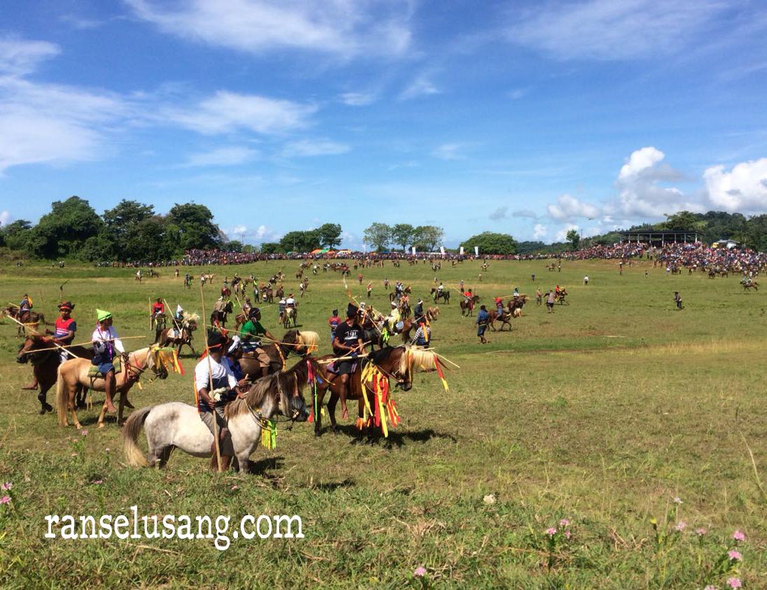 Kejutan menegangkan Pasola Lamboya, Sumba Barat