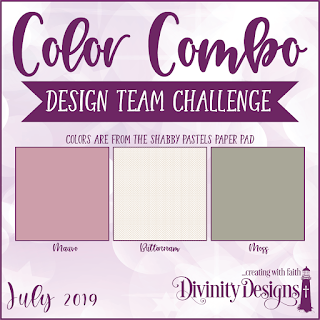 Divinity Designs LLC July Design Team Color Combo Challenge