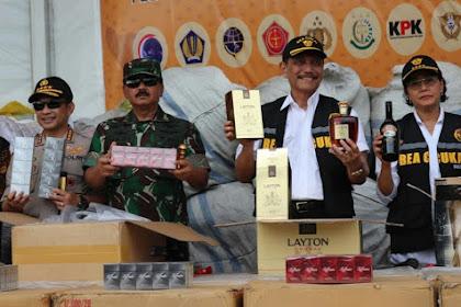 TNI Dukung Pelaksanaan Tugas Dirjen Bea dan Cukai