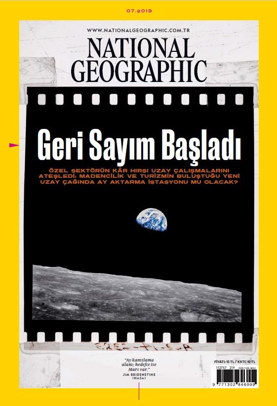 National Geographic Temmuz 2019 Dergi PDF indir