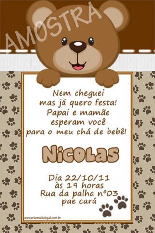 Frase Para Convite De Cha De Bebe