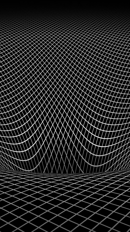 Wireframe Illusion  Galaxy Note HD Wallpaper
