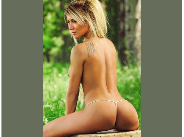 Nude teen in pajamas