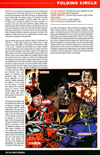 Circulo Envolvente Marvel