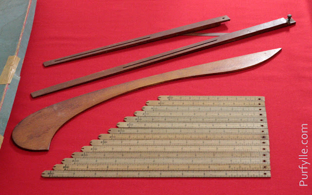 Instruments For Laying Off The Patterns From The National Garment Cutter