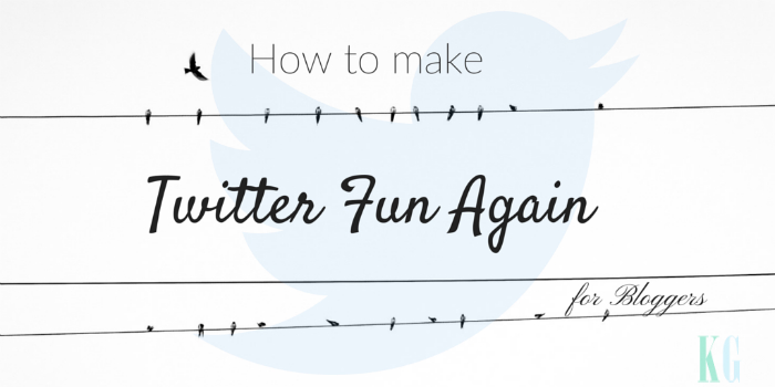 How to make twitter fun again for bloggers and content producers and why twitter sucks for bloggers