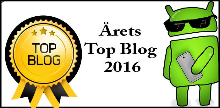 Typ Android vinner årets Top Blog 2016