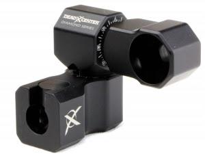 Les Stabilisations Dead Center Archery - La gamme Diamond Series Diamond%2Bsingle%2Bmount