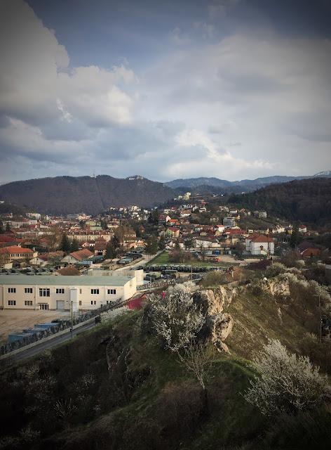 Priveliste asupra Brasovului de pe Dealul Sprenghi