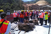 Menteri PUPR Tinjau Langsung Proyek Jalan Tol Shortcut
