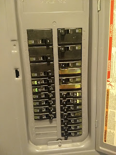 Electrical fuse panel jax