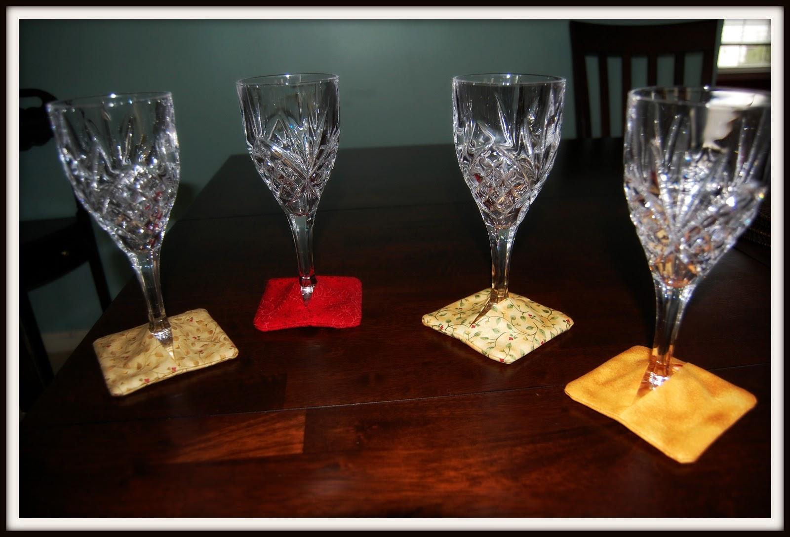Make It Happen >> Simple DIY Home: Wine Coasters