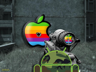 Android Shooting Apple With Sniper