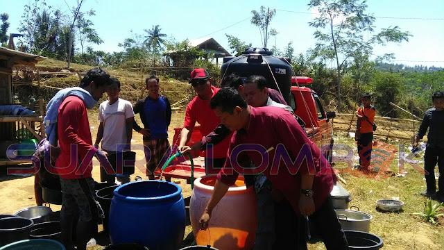 PDIP Droping Air Bersih ke Mareje