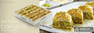 mado menü fiyat listesi kampanya fırsat fıstıklı baklava siparişi