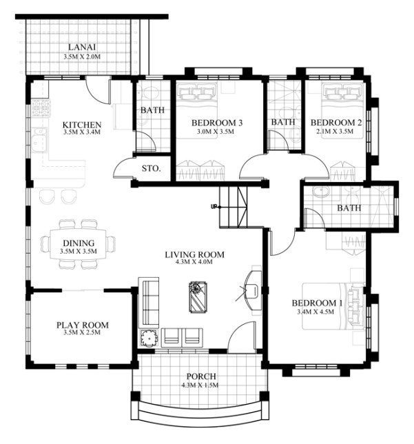Floor Plans For Small Houses 25 best ideas about small house plans on pinterest small home plans small house floor plans and retirement house plans Floor Plan