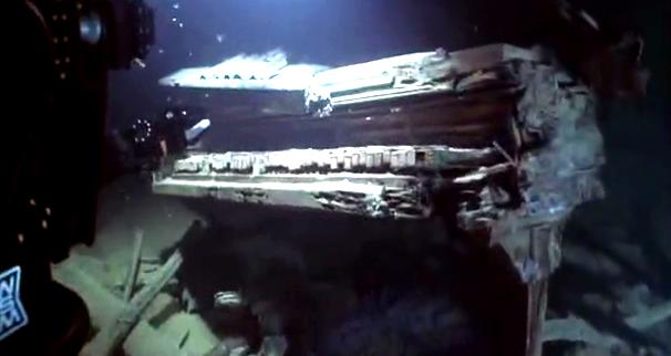 Resultado de imagen para restos del titanic piano