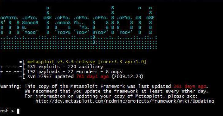 Exploitivator : Automate Metasploit Scanning And Exploitation
