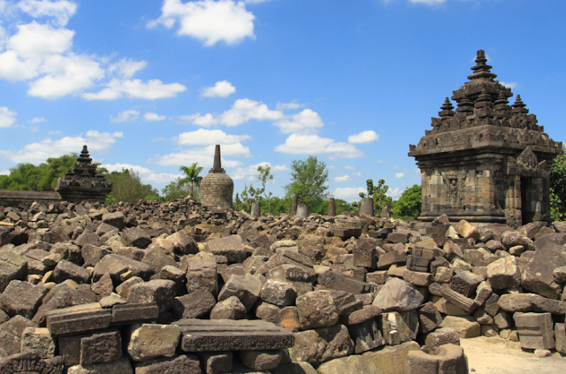 The Ruin of Plaosan Temple
