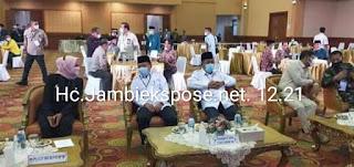 Al Haris Dan Abdullah Sani Hadir Rapat Pleno KPUD Provinsi Jambi, Kontestan Lain Batal Hadir.