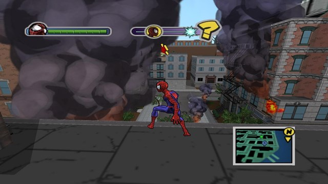 Download Ultimate Spider Man PC Games Gameplay