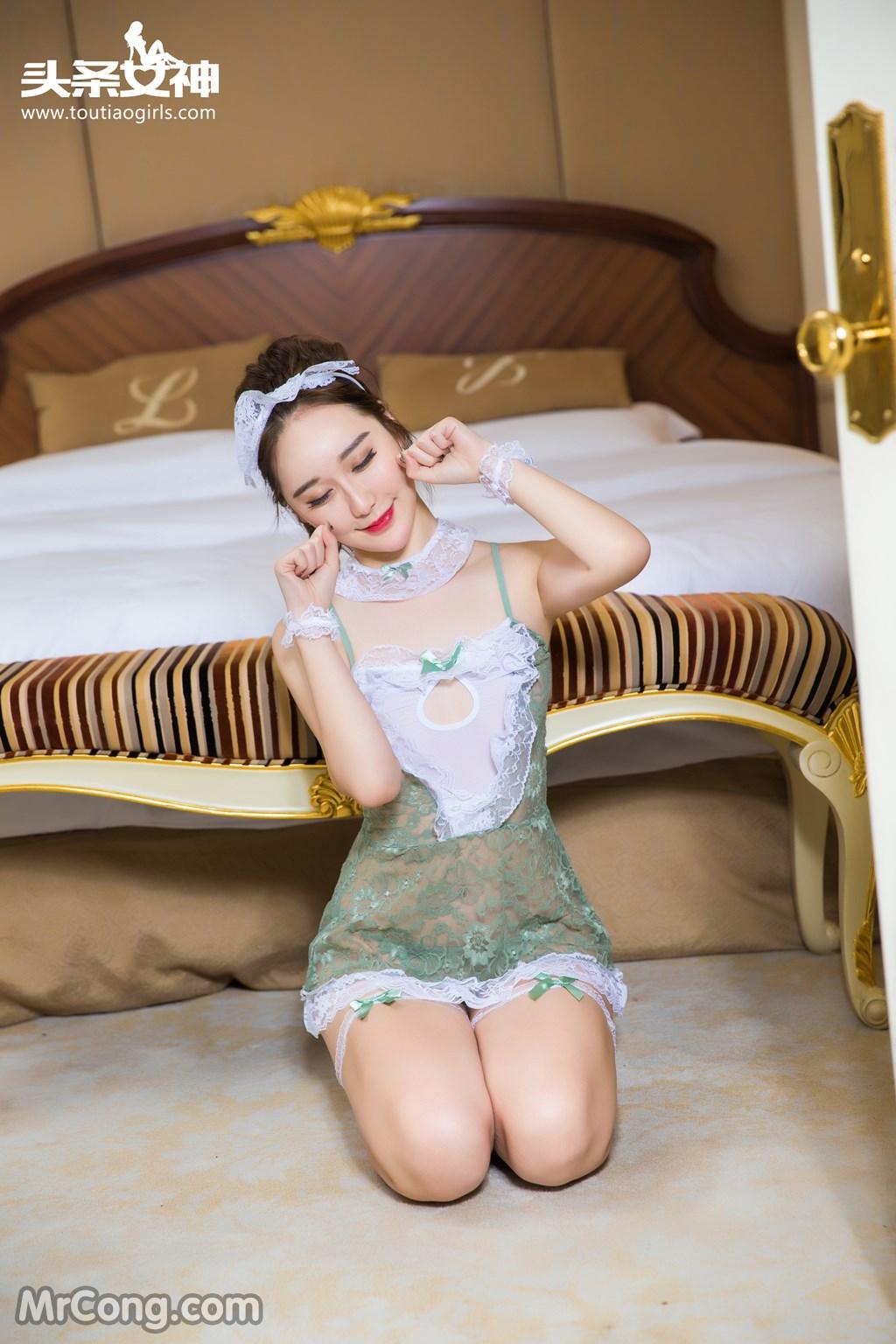 Image MrCong.com-TouTiao-2016-12-15-Wang-Yue-004 in post TouTiao 2016-12-15: Người mẫu Wang Yue (王悦) (17 ảnh)
