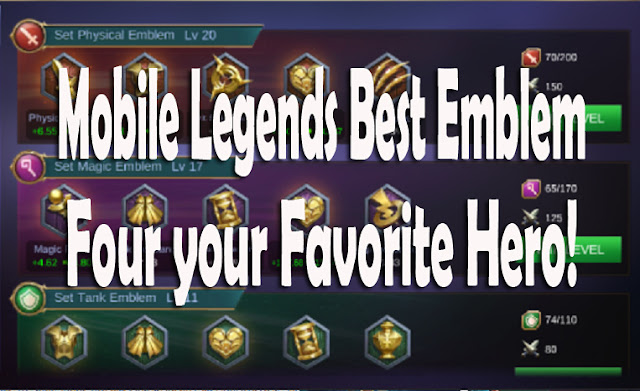 Best emblem Guide for your favorite Hero