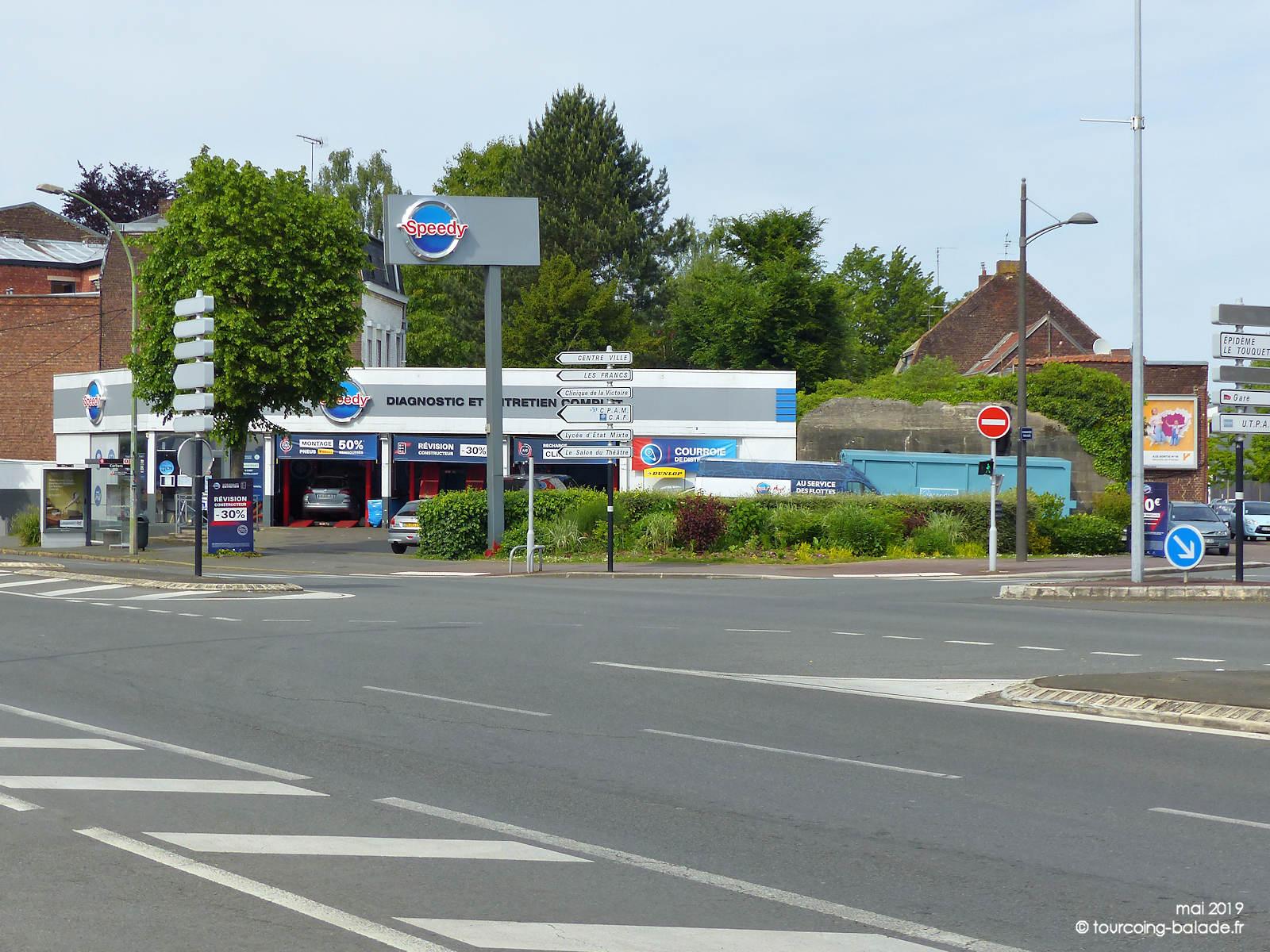 Blockhaus allemand Tourcoing - Boulevard Gambetta