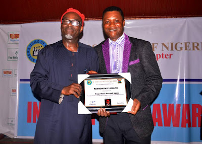 Udoh Bags Nollywood Excellence And Patronship Awards