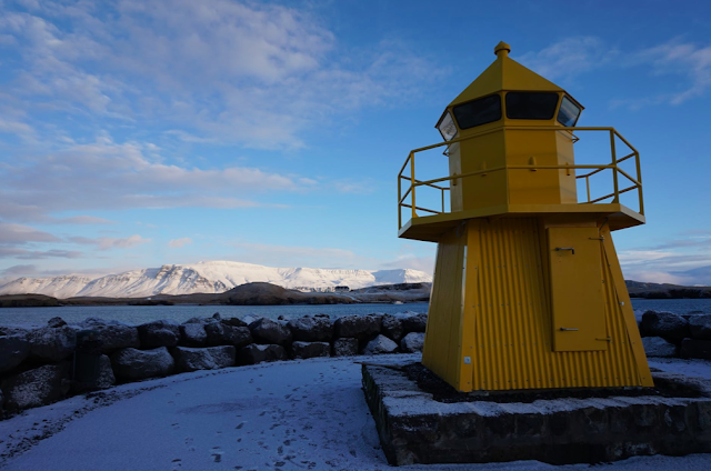 A Lighthouse In Iceland