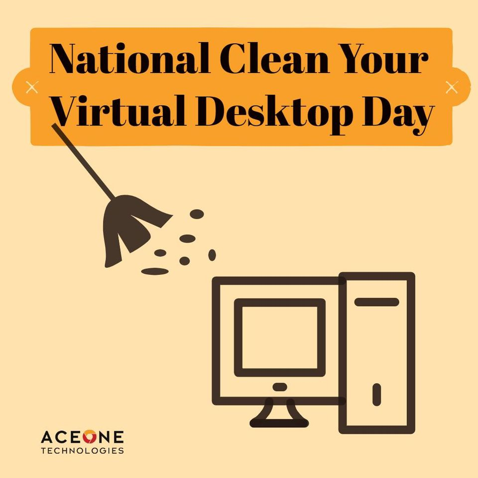 National Clean Your Virtual Desktop Wishes for Whatsapp