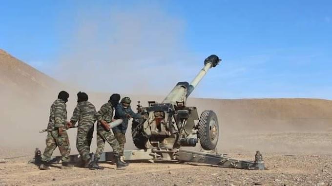 ⭕ El Ejército Saharaui realiza una serie de bombardeos contra posiciones marroquíes.