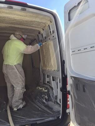 Climate Controlled Van - Delmarva Spray Foam