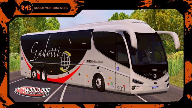 Viação Gadotti, Skins World Bus, Irizar I8, Roger Monteiro Skins