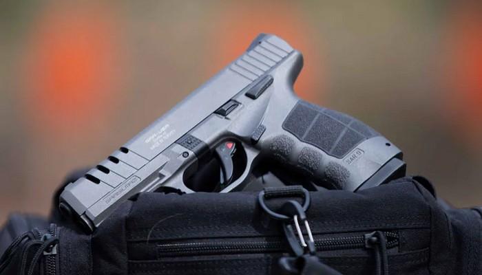 Турецький полімерний пістолет SAR9X Platinum