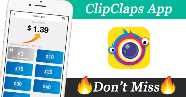 Watch Funny Videos and Earn Extra Cash from $10 to $50 Weekly on Clipclaps App – Using This Code