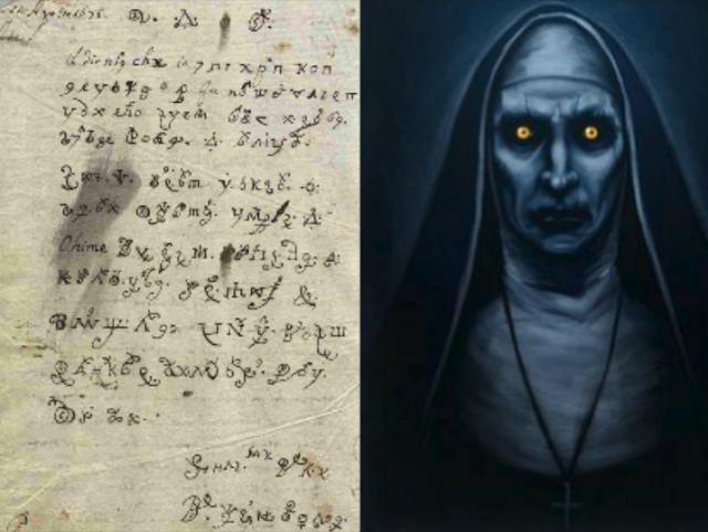 """Monja poseída escribió """"La Carta del Diablo"""" y siglos después lograron descifrarla y es aterradora"""