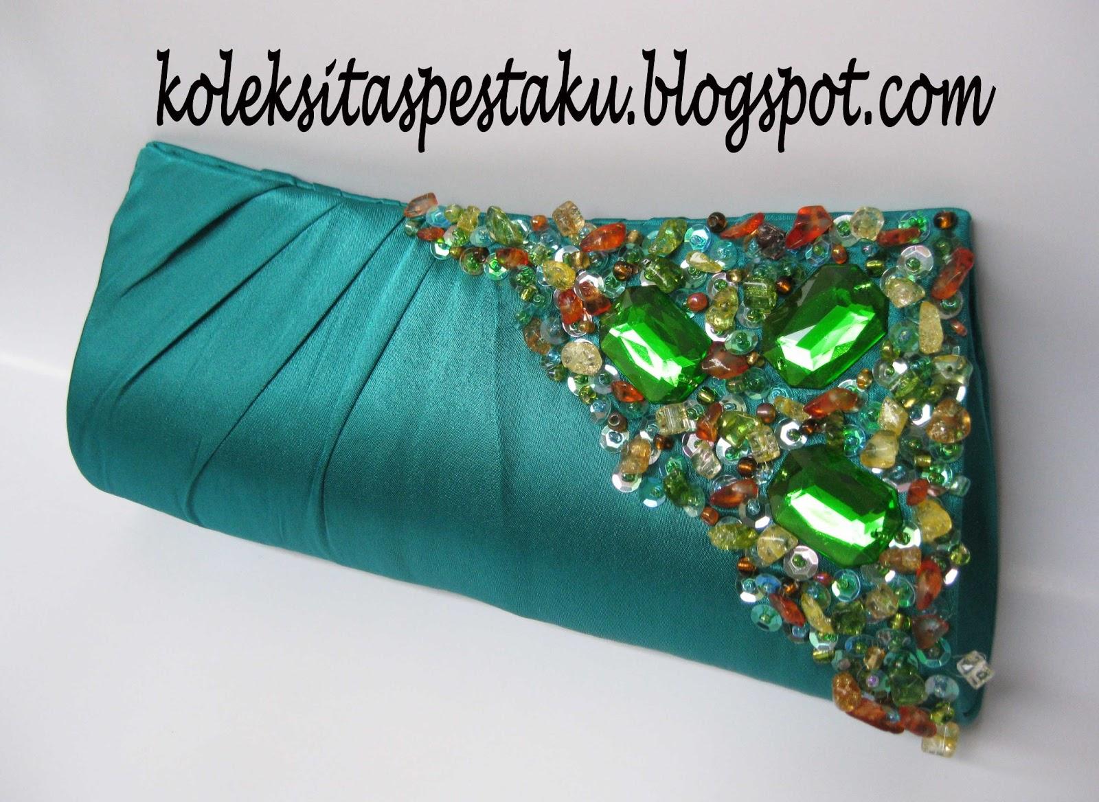 Tas Pesta - Clutch Bag  taspestaku  Clutch Bag Mewah Warna Baru Ijo ... eb8f7fef94