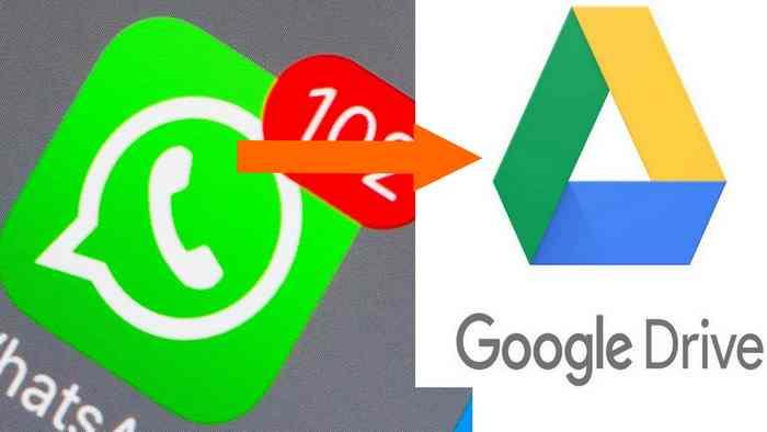 Cara Penyimpanan Online Percakapan WA ke Drive Google