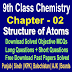 Structure of Atoms | Chemistry 9 Class Notes - Easy Notes