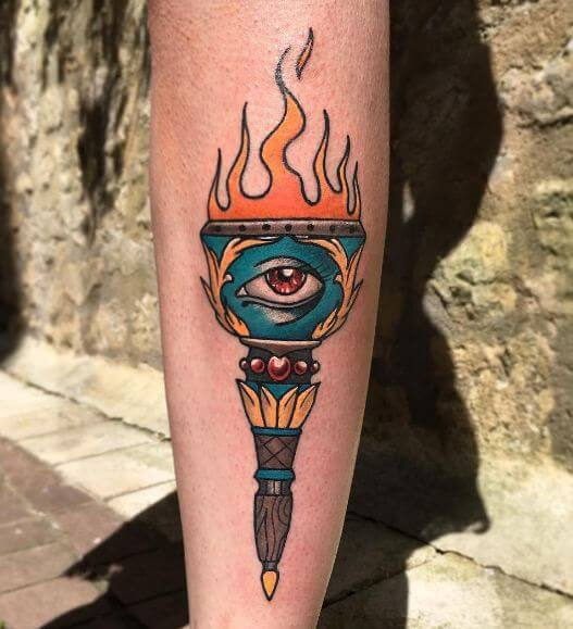 Egyptian Ankh Tattoo