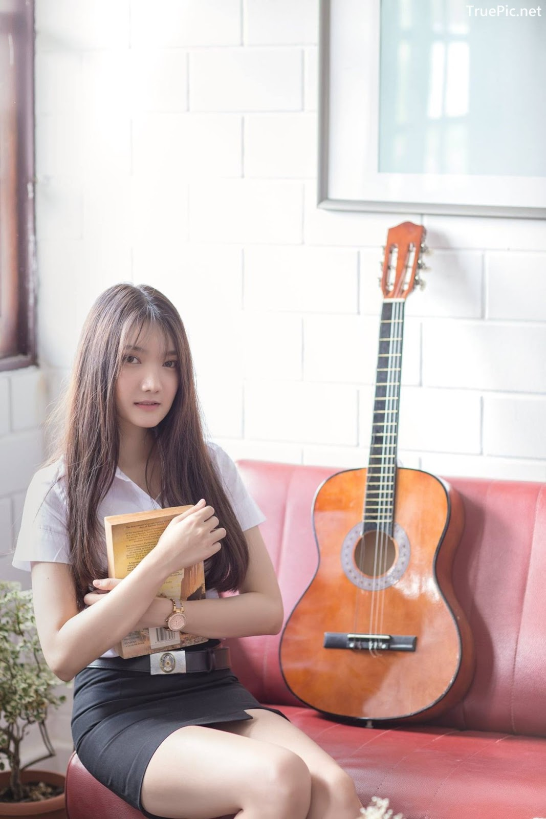 Image-Thailand-Cute-Model-Creammy-Chanama-Concept-Innocent-Student-Girl-TruePic.net- Picture-4