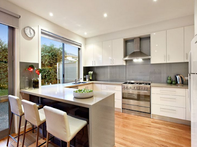 Inspirasi Desain Kitchen Set Later U Pada Dapur Minimalis
