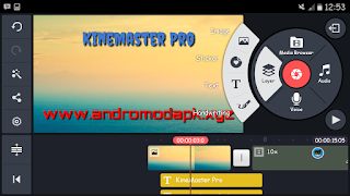 Kinemaster pro video editor android