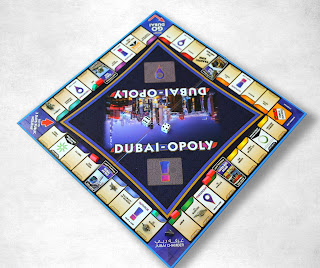 Source: Dubai Chamber. Dubai Chamber creates Dubai-Opoly game to promote Dubai.